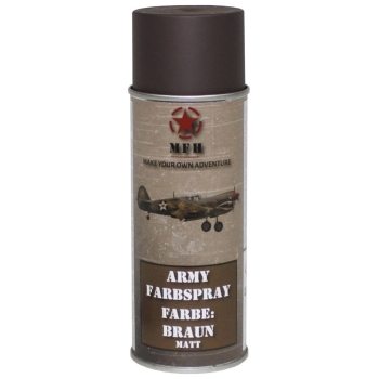 "Farbspray, ""Army"" BRAUN, matt, 400 ml"