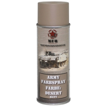 "Farbspray, ""Army"" DESERT, matt, 400 ml"