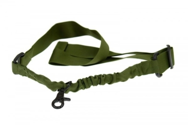 GFC Tactical 1-Point Tactical Sling - Bungee, olive green