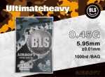 BLS BIO BBs ULTIMATE HEAVY 0,45G 1000PCS - WHITE